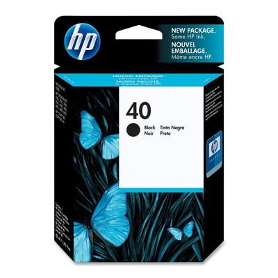 HP 40 Black Ink Cartridge