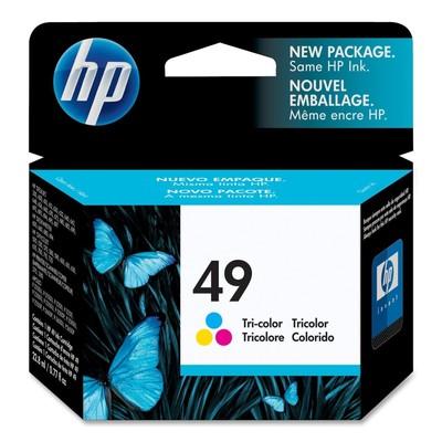 HP 49 Tri-color Ink Cartridge