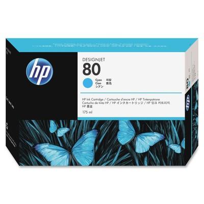 HP 80 Cyan Ink Cartridge