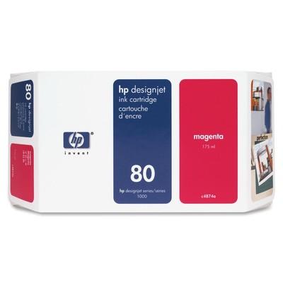 HP 80 Magenta Ink Cartridge