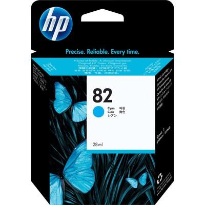 HP 82 69-ml Cyan Ink Cartridge (C4911A)