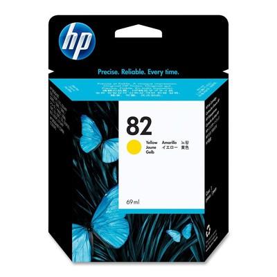 HP 82 Yellow Ink Cartridge