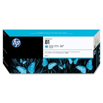HP 81 Cyan Ink Cartridge