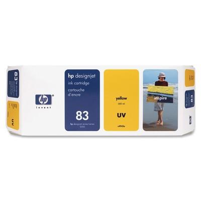 HP 83 Yellow Ink Cartridge