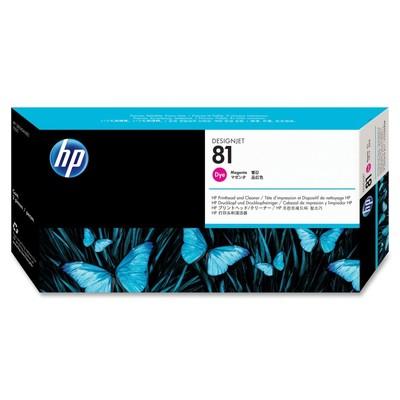 HP 81 Magenta Printhead/Cleaner
