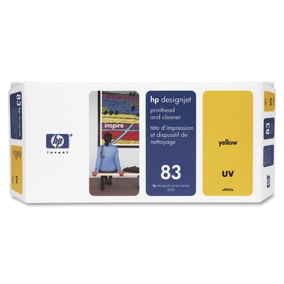 HP 83 Yellow Printhead/Cleaner