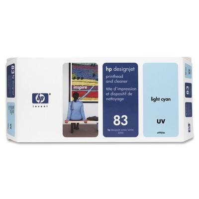 HP 83 Cyan Printhead/Cleaner
