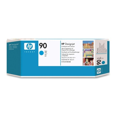 HP 90 Cyan Ink Cartridge