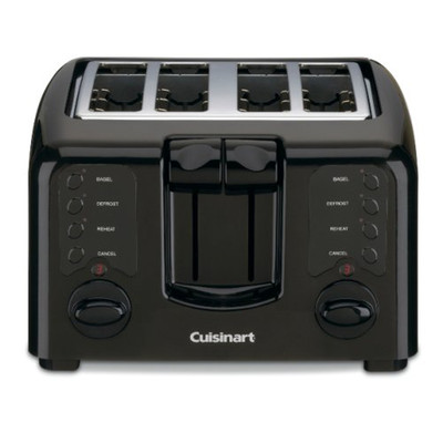 CUISINART CPT140BKC, COMPACT 4 SLICE TOATER, CPT-140BKC