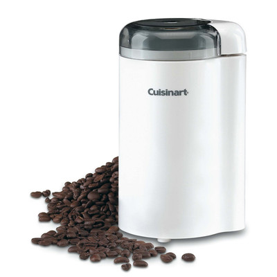 Cuisinart-Refurbished Coffee Bar Coffee Grinder, White (DCG-20N), Manufacturer Recertified