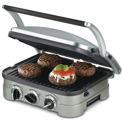 Cuisinart-Refurbished 4 in 1 Griddler (CGR-4), Manufacturer Recertified