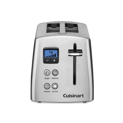 Cuisinart CPT415 2 Slice Toaster Stainless Steel