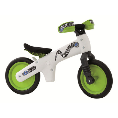 Balance Bike B-BIP  - White / Green ** ASSEMBLED **