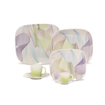 Karim Rashid Porcelain 30 Pieces Dinner/Espresso Set (Fusion)