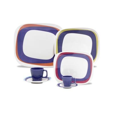 Karim Rashid Porcelain 20 Pieces Dinner/Espresso Set (Koil)