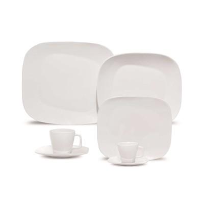 Karim Rashid Porcelain 30 Pieces Dinner/Espresso Set (White)