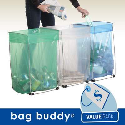 Wire Bag Holder - Value Pack (3 Pk)
