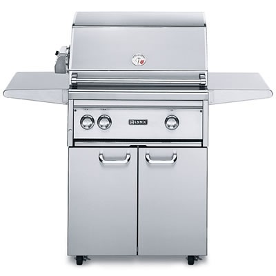 """27"""" Freestanding Grill w/ Rotisserie - Natural Gas"""