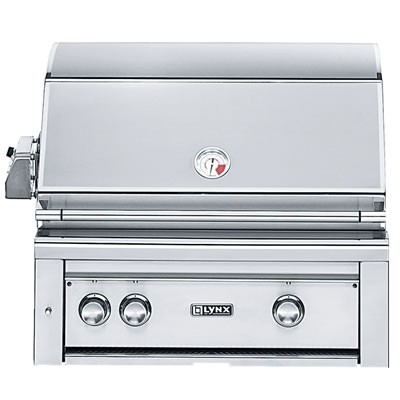 """30"""" Built-in Grill w/ Rotisserie  - Natural Gas"""