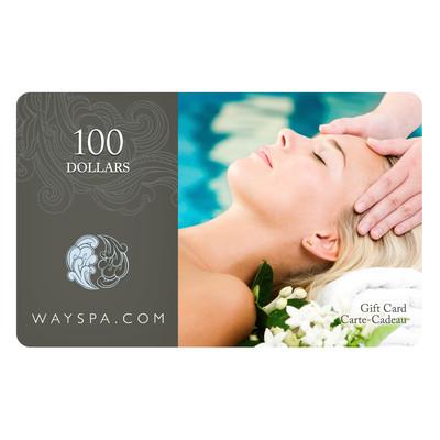 WaySpa Giftcard - $100