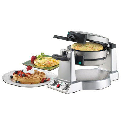 Cuisinart-Refurbished Breakfast Central Waffle/Omelette Maker (WAF-600), Manufacturer Recertified