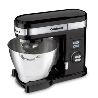 Cuisinart-Refurbished 5.5 Quart Stand Mixer, Black (SM-55BK), Manufacturer Recertified