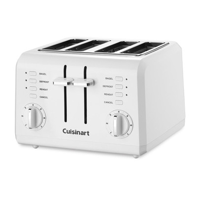 Refurbished-CUISINART CPT142 COMPACT TOASTER-Manufacturer Recertified with 90 days Warranty