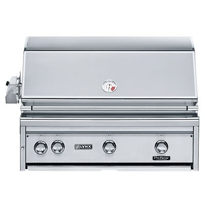 """36"""" Built-in Grill w/ Rotisserie - Natural Gas"""