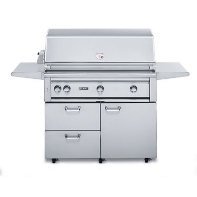 """42"""" Freestanding Grill w/ ProSear - Natural Gas"""