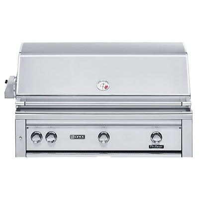 """42"""" Built-in Grill w/ Rotisserie - Natural Gas"""