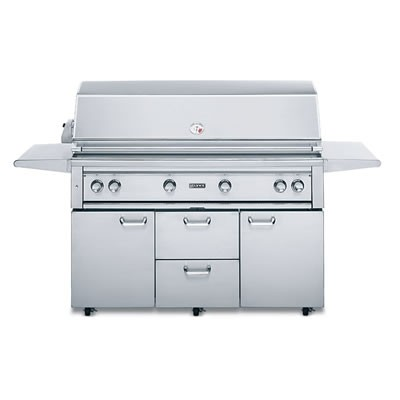 """54"""" Freestanding Grill w/ ProSear - Natural Gas"""