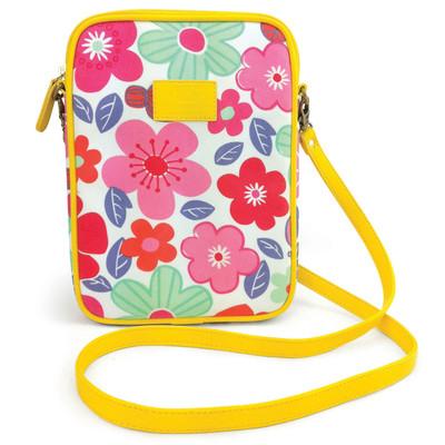 Floral mini iPad / tablet bag