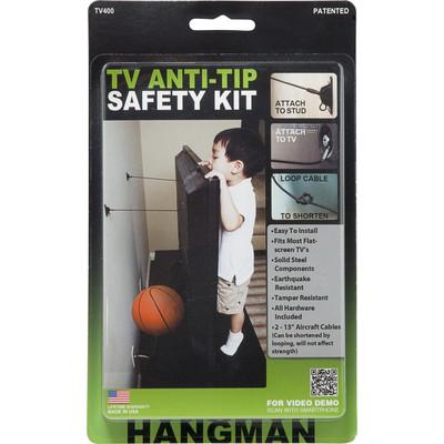 Hangman ANTI-TIP KIT FOR FLATSCREEN TVs