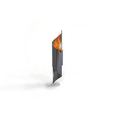 Nuvo Wall Mounted Bio Ethanol Indoor/Outdoor Fireburner
