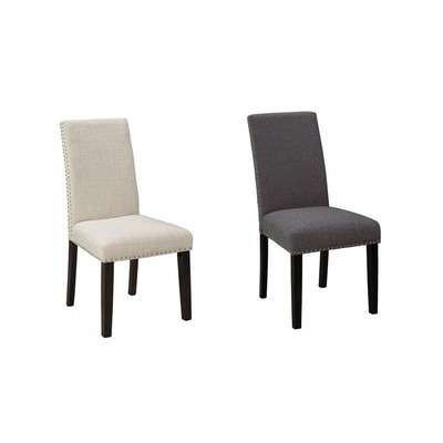 Kara Stud Dining Chair (Choice of Colour) - Set of 2