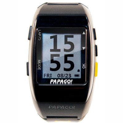 PAPAGO GPS GOWATCH 770 + GOHEART 100 HEART RATE MONITOR COMB
