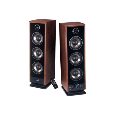 GENIUS 2PCS SP-HF2020 V2 Hi-Fi DIGITAL WOOD SPK 1YW