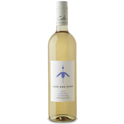 Lake & River Vineyard Select Chardonnay VQA, Colio Estate Winery 2014 - Case of 12 White Wine
