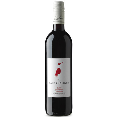 Lake & River Vineyard Select Cabernet Franc VQA, Colio Estate Winery 2013 - Case of 12 Red Wine
