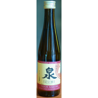 Teion Sakura Sake (300 ml), Ontario Spring Water Sake Company N/V - Case of 6 Rice Wine