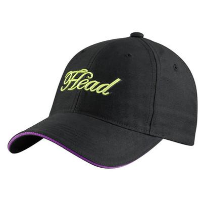 Head Women's Sun Cap Tennis Black