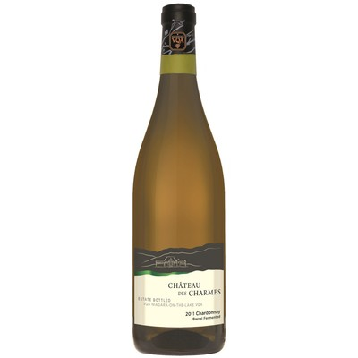 Barrel Fermented Chardonnay, Estate Bottled VQA, Chateau Des Charmes 2015 - Case of 12 White Wines