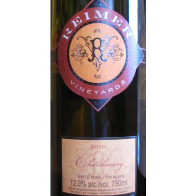 Chardonnay, Reimer Vineyards 2011 - Case of 6 White Wines