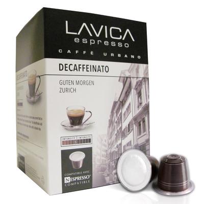Decaffeinato Espresso Medium Roast, Nespresso Compatible Capsules (120 Pack)