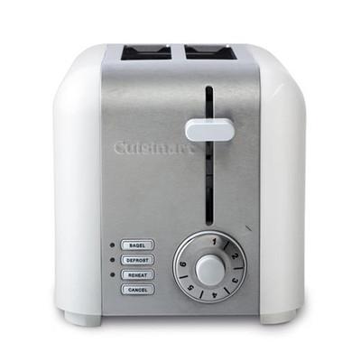 Cuisinart 2-Slice Compact Stainless Toaster, CPT-320WC