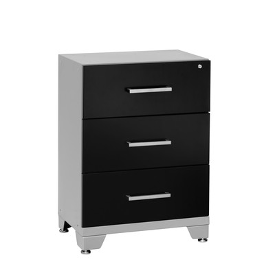 NewAge Products Performance Series Three Drawer Tool Cabinet Black