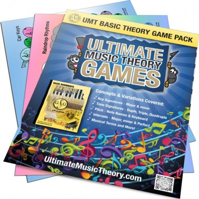 Ultimate Music Theory - Basic Theory Game Pack