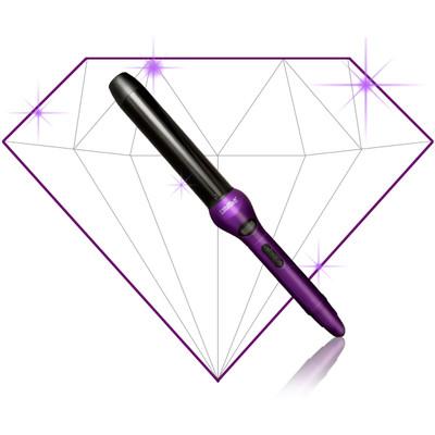 Royale Professional 32MM Digital Ceramic Curling Iron- Purple- 5 YEAR WARRANTY- FREE MINI FLAT IRON