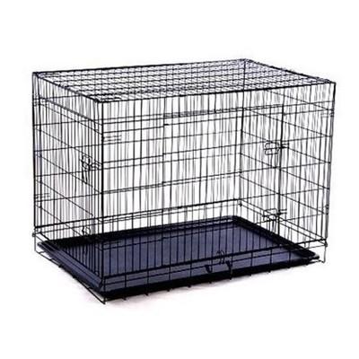 """48"""" 2-Door Dog Crate"""
