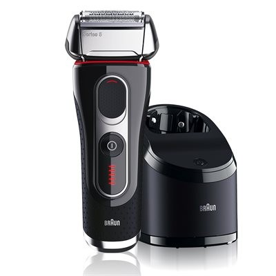 Braun Series 5 Flex MotionTec Rechargeable Shaver with Clean&Charge